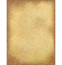 vintage ornamented background vertical vector image