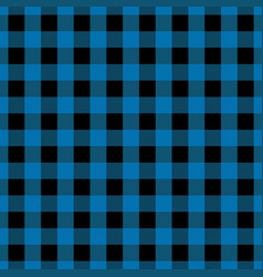 blue tablecloth seamless pattern vector image vector image