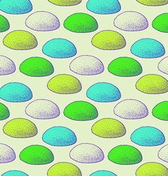 Sketch abstract rocks pattern vector image vector image