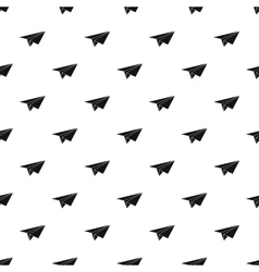 Paper plane pattern simple style vector image vector image