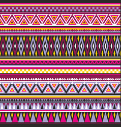 aztec seamles pattern vector image