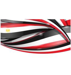 egypt banner background flag vector image