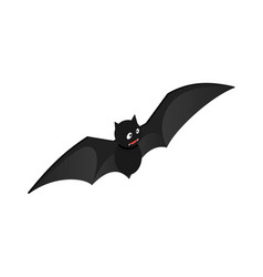 fly bat icon isometric style vector image