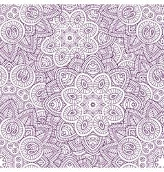 Indian mandala seamless pattern vector