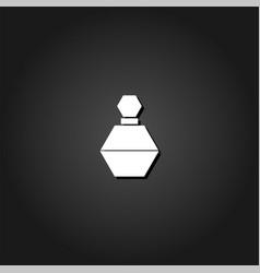 perfume icon flat vector image
