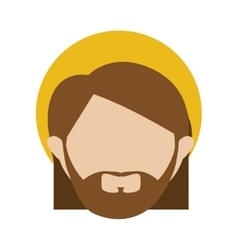 Saint joseph icon image vector