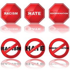 Stop discrimination vector