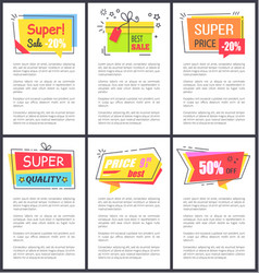 super sale -20 and quality vector image
