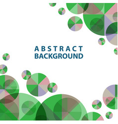 Template abstract for wallpaper presentation vector