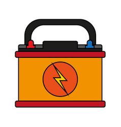 Battery flat vector