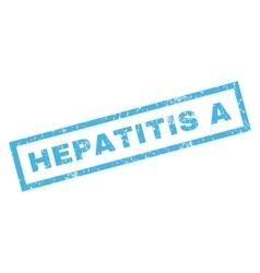 Hepatitis a Rubber Stamp vector