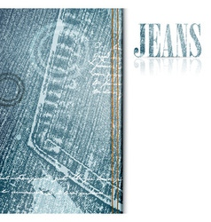 jeans frame vector image
