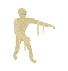 mummy icon isometric style vector image