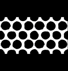 painted dots pattern vector image
