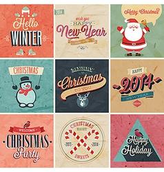 christmas set2 vector image