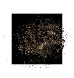 Grunge texture frame vector image vector image