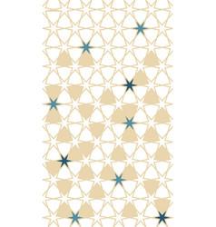 Arabesque seamless background pattern vector