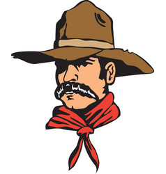 desperado logo mascot vector image