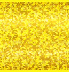 gold color triangle seamless pattern vector image