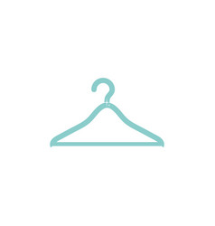 Isolated hanger icon flat design vector