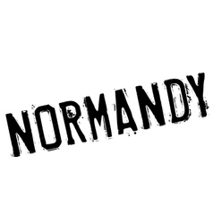Normandy stamp rubber grunge vector