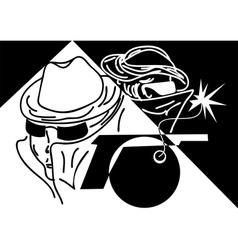 spies vector image