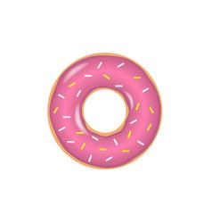 Sweet donut set vector