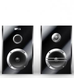 illustration of a loudspeaker vector image