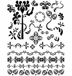 decorations vector image vector image