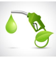 Bio fuel logo concept vector