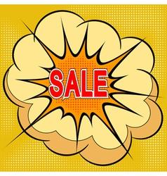 Cartoon of sale vector