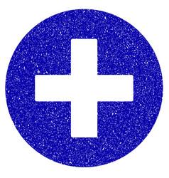 Create icon grunge watermark vector