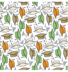 Graduete cups pattern vector