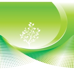 Green Environmental vector image vector image