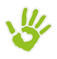 Hand icon Help design graphic vector