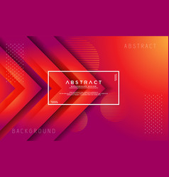 Modern abstract 3d triangle gradient background vector