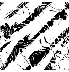 Monochrome seamless pattern vector