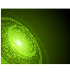 abstract techno space background vector image vector image