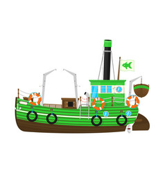 Fishing Boat Clipart Vector Images 89