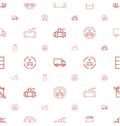 diesel icons pattern seamless white background vector image