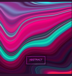 Multicolored marbled texture vector