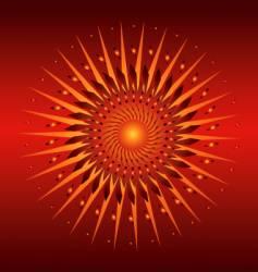 spiral illustration vector image vector image
