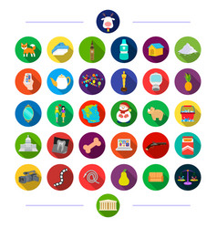 Treat equipment animals and other web icon in vector
