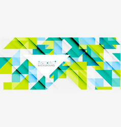 Triangle pattern design background vector
