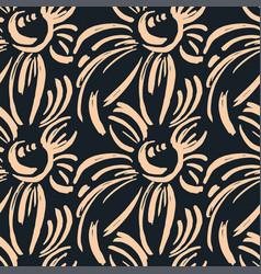 Seamless textile pattern print fashion trendy vector