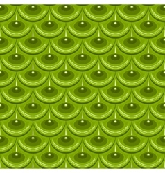 Seamless green river fish scales vector image vector image