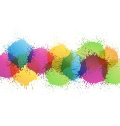 Color paint vector image vector image