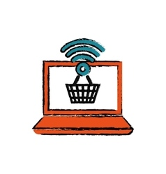 Buy online digital marketing vector