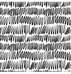 doodle grunge lines hand drawn pattern vector image