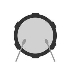 drum icon vector image